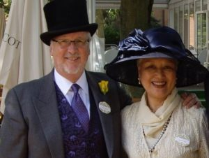 david allan and his wife yoshi at royal scott