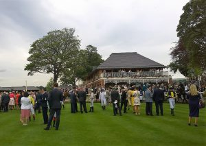 Early in the Parade Ring at York
