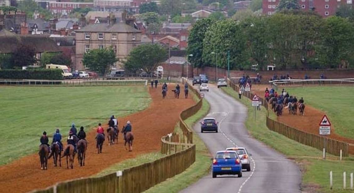 Newmarket, UK: Spring in the hub of horseracing.