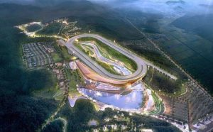 London architects Grimshaw won the competition to design a new racing theme park at Yeongcheon at racing-emergent Korea.