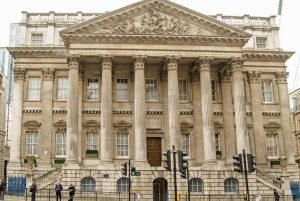The Mansion House, City of London.