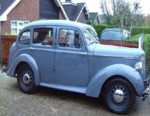 "The young ""Allanmobile"" was a 1948 Hillman 10. The author hastens to add that his was already an old model when he bought it."