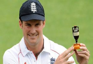 Andrew Strauss, Middlesex and England Leader of men was born in South Africa and moved to England at 6.