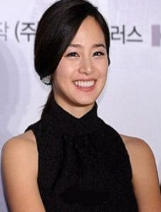 Kim Tae Hee, the female lead in Grand Prix, a feature film about Korea's first female jockey.