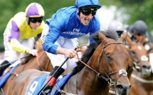 It took a great ride from brilliant horseman Adam Kirby but Harry Angel reversed the Commonwealth form and won the Darley July Cup.