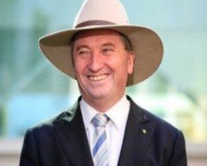 Barnaby Joyce, disqualified as Australian Deputy PM.
