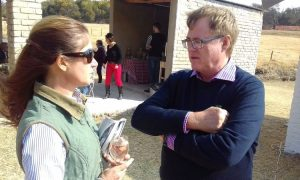 Nigel chats to the TBA's Catherine Hartley